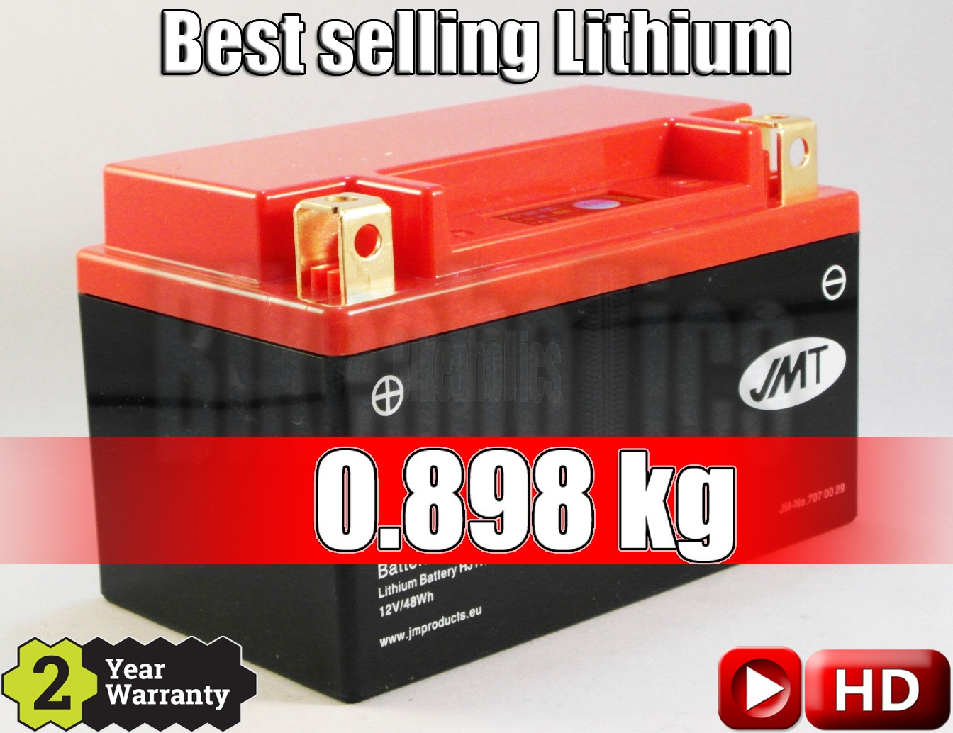 ad0d2435 LITHIUM - Best Price - Motorcycle Battery YTX14H-FP