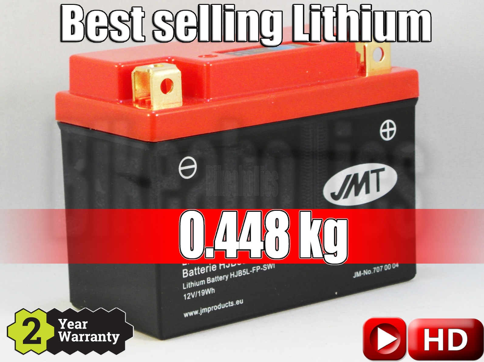 LITHIUM - Best Price - Motorcycle Battery YB5L-FP JMT 12N5-3B 12N5.5-3B