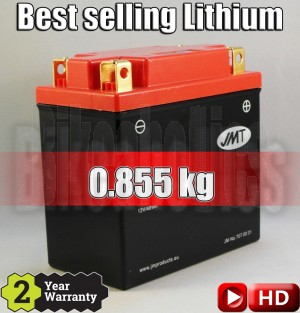 LITHIUM - Best Price - Motorcycle battery YB12-FP JMT YB12C-A 12N12A-4A-1