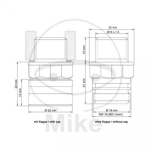stahlbus oil drain valve