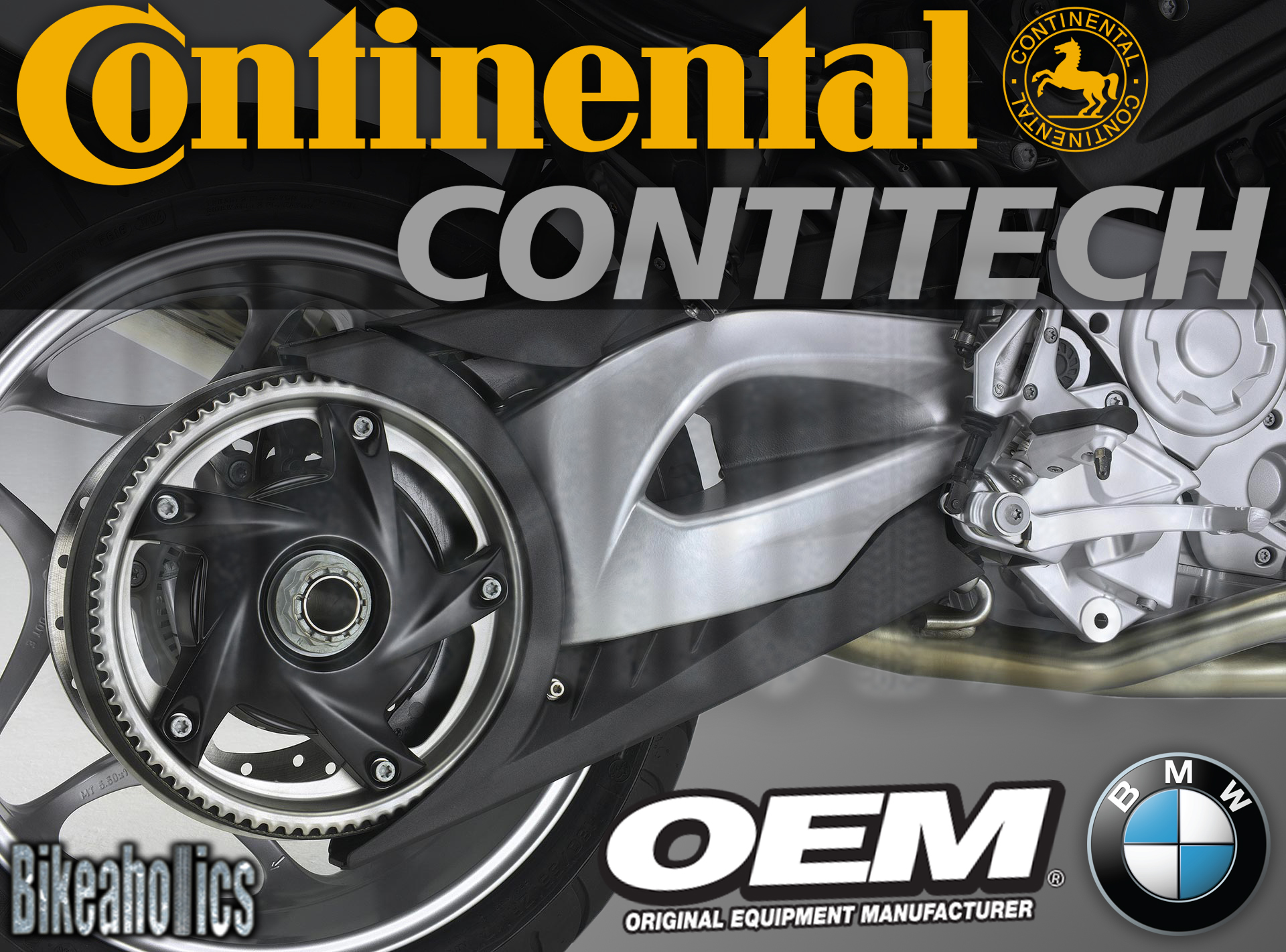 Continental Contitech Drive Belt 173 Teeth x 34 mm BMW F 800 800 ST 2012