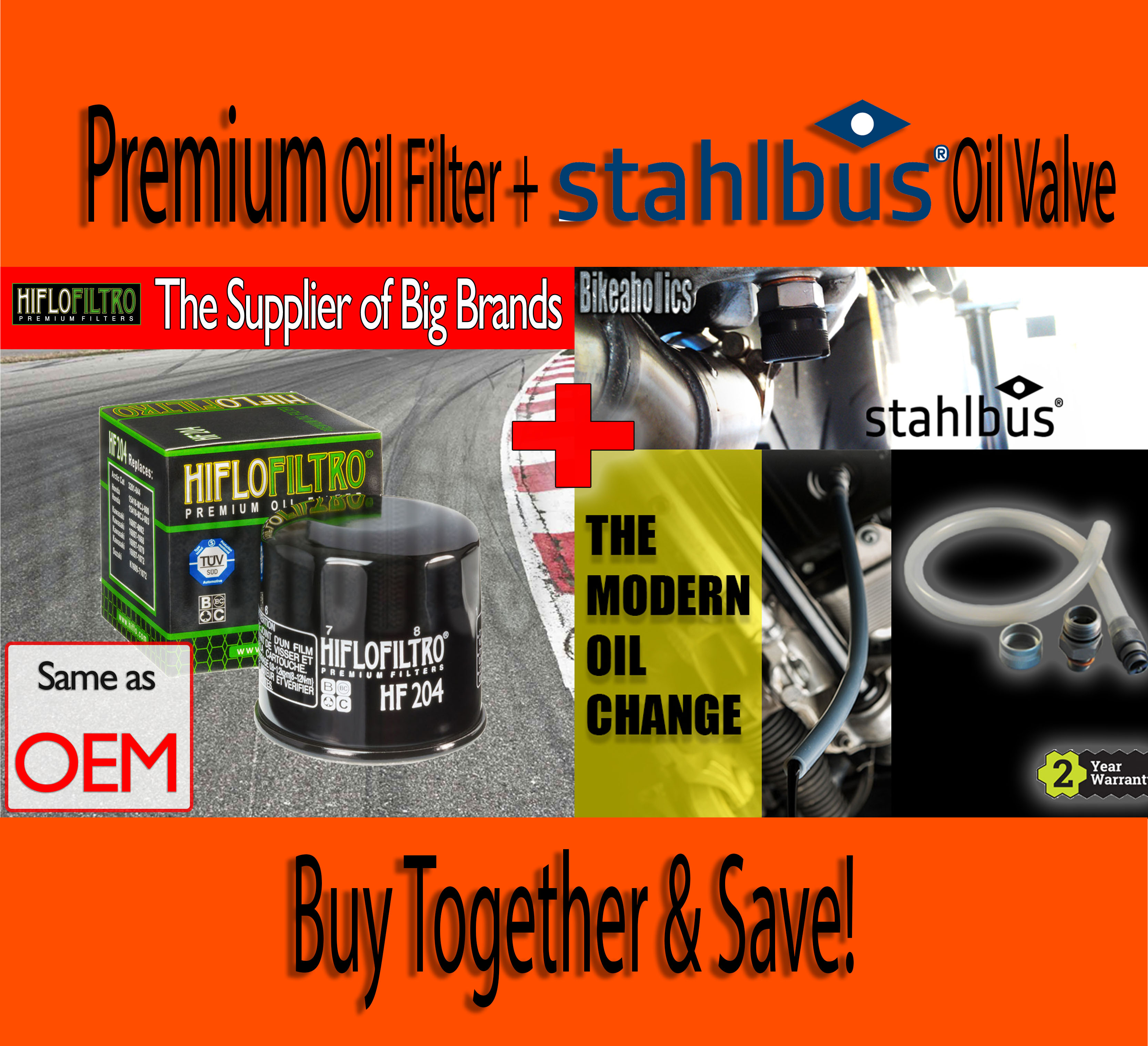 premium oil filter stahlbus drain valve honda cbr 900 rr. Black Bedroom Furniture Sets. Home Design Ideas
